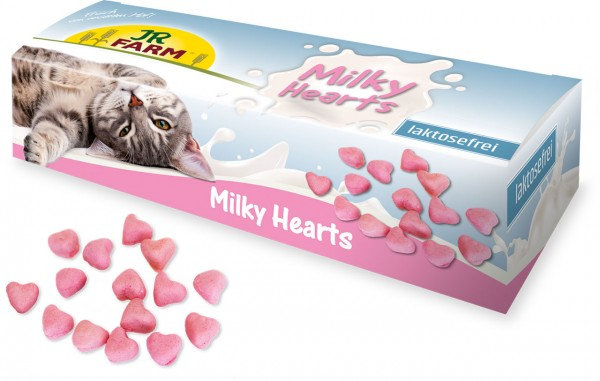 JR Cat Milky Hearts 50 g
