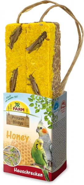 JR Protein-Birdys Honey Heuschrecken 150 g