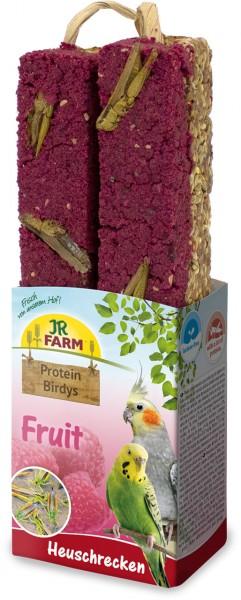 JR Protein-Birdys Fruit Heuschrecken 150 g