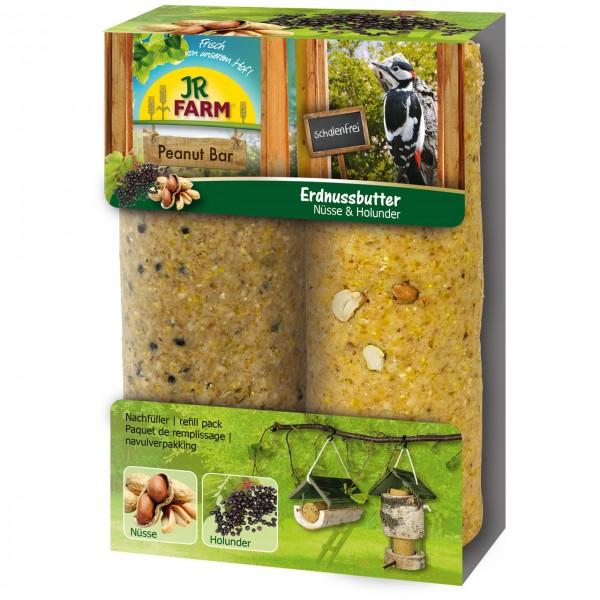JR Garden PBar 2er Pack Nüsse & Holunder 700 g