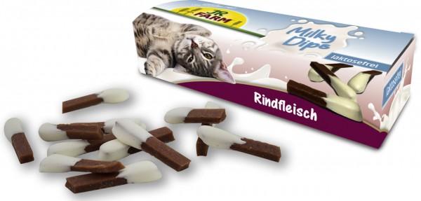 JR Cat Milky-Dips Rindfleisch 30 g