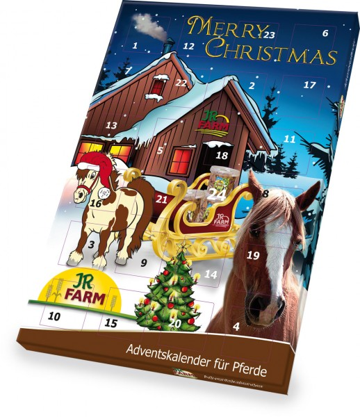 jr Horse Adventskalender 140 g SAISONAL