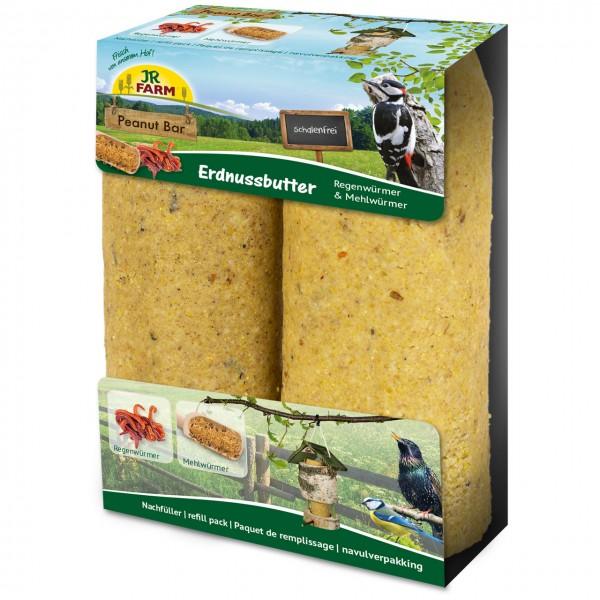 JR Garden PBar 2er Pack Regen-& Mehlwürmer 700g