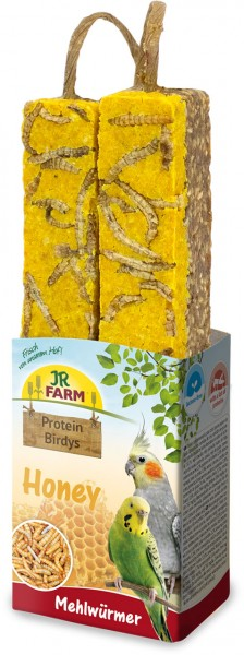 JR Protein-Birdys Honey Mehlwürmer 150 g