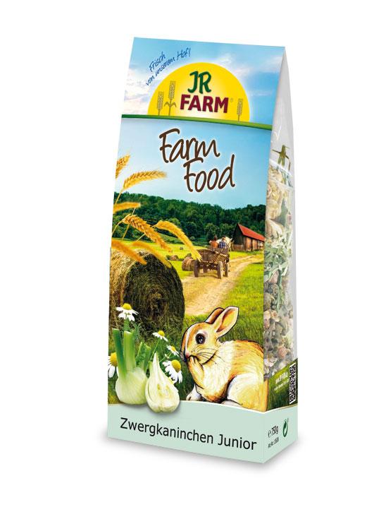 JR Farm Food Zwergkaninchen Junior 750 g