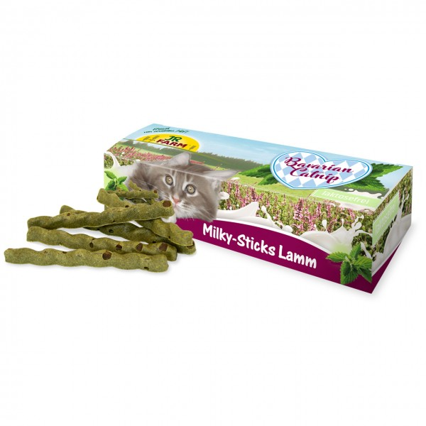 JR Cat Bavarian Catnip Milky-Sticks Lamm 35 g