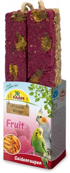 JR Birds Protein-Birdys Fruit Seidenraupen 150 g