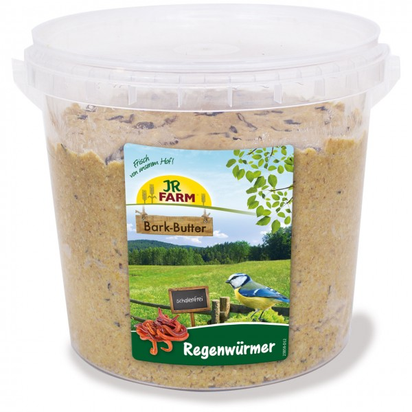 JR Garden Bark-Butter Regenwürmer 2 kg