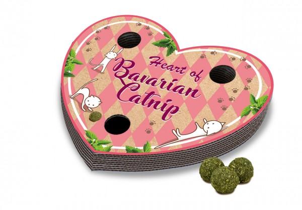 JR Cat BC Heart of Bavarian Catnip