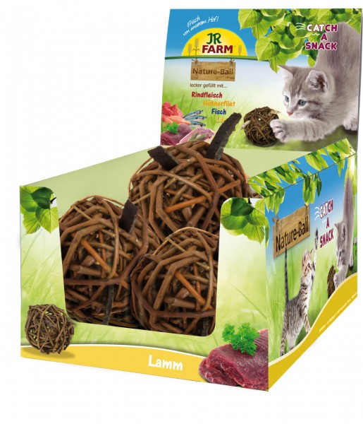 JR Cat Nature-Ball Lamm 15 g