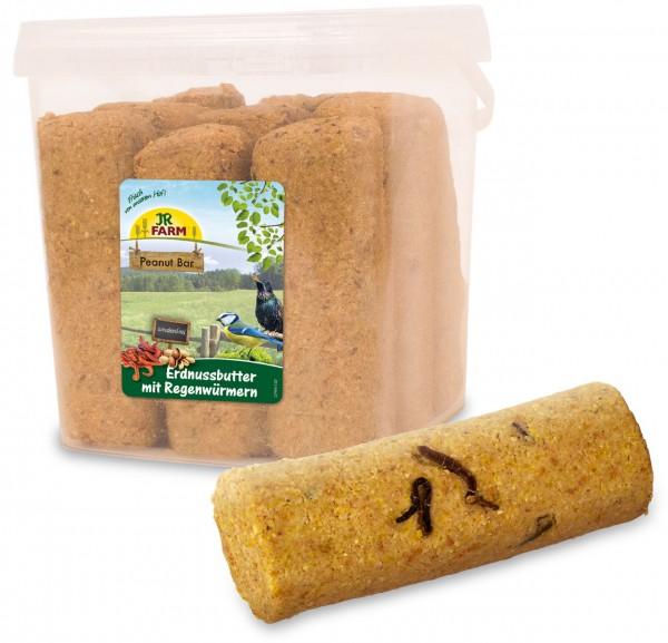 JR Garden PBar Erdnussbutter Regenwür 3,15kg Eimer